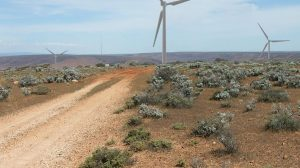 Lincoln Gap Australian Wind Farm