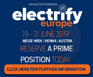 Electrify Europe – Side Banner