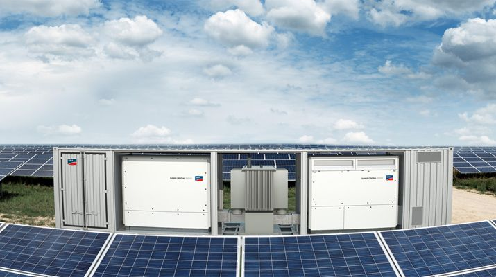 Sma Supplies 1 2 Gw Inverter Power For Utility Scale Pv