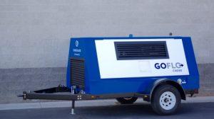 mobile natural gas compressor